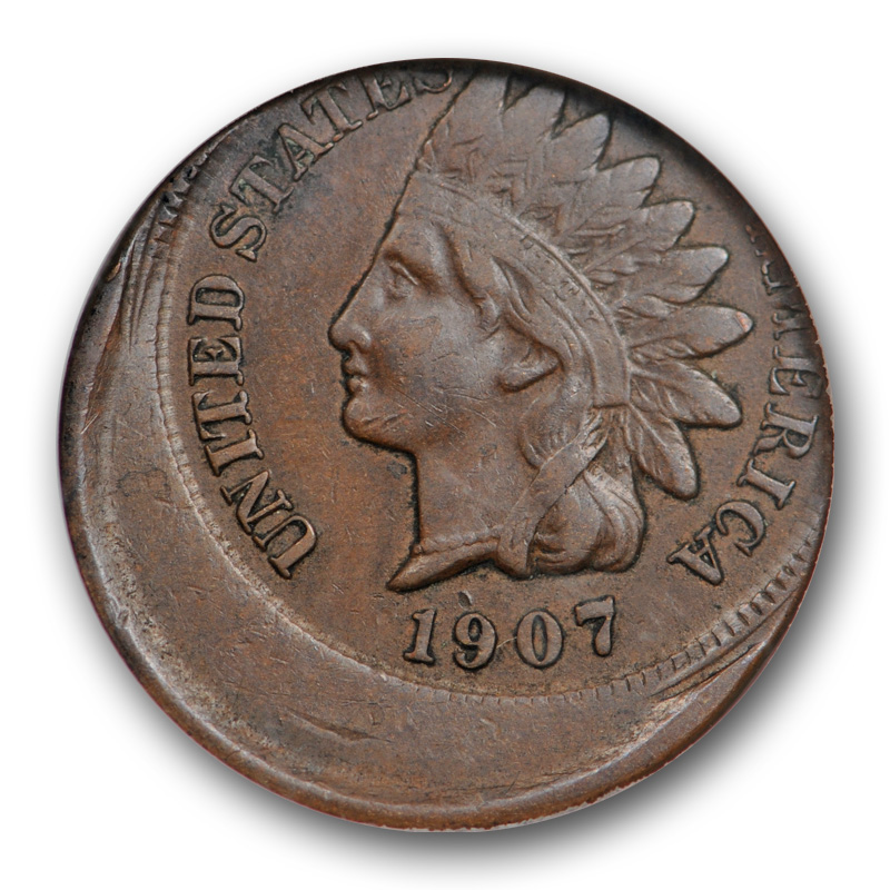 1907 Indian Head Cent Very Fine Penny VF