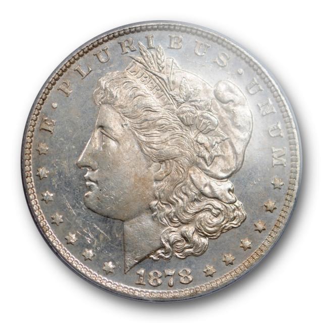 1878 7TF $1 Reverse of 1878 Morgan Dollar PCGS MS 63 DMPL Deep Mirror Proof Like Cert#