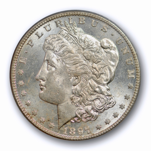 1897 S $1 Morgan Dollar PCGS MS 64 Uncirculated Better Date Proof Like Reverse !