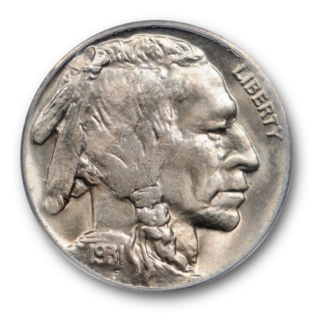 1931 S 5C Buffalo Head Nickel PCGS MS 65 Uncirculated CAC Approved