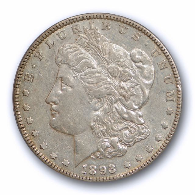 1893 $1 Morgan Dollar PCGS XF 45 Extra Fine to About Uncirculated Better Date