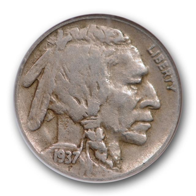 1937 D 5C 3 Legs Buffalo Head Nickel NGC VF 35 Very Fine to Extra Fine Three Legged