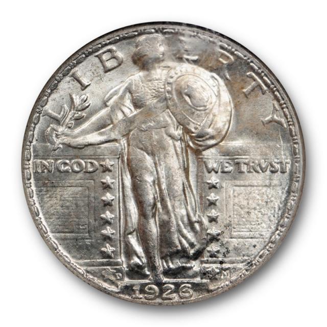 1926 D 25c Standing Liberty Quarter NGC MS 65 Uncirculated Denver Mint