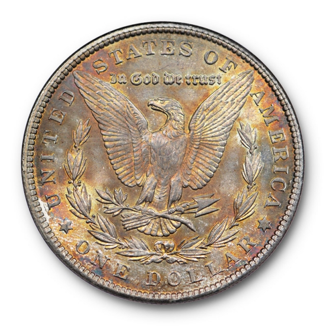 1904 $1 Morgan Dollar NGC MS 63 Uncirculated Old Fatty Holder Toned !