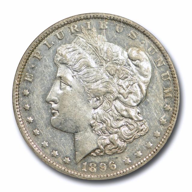 1896 O $1 Morgan Dollar NGC AU 58 About Uncirculated Proof Like Tough !