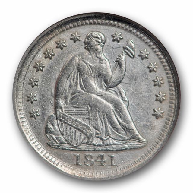 1841 O Seated Liberty Half Dime NGC AU 58 About Uncirculated Tough Grade