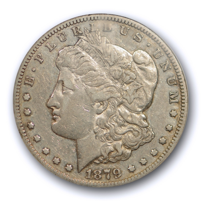 1879 CC $1 Morgan Dollar NGC XF 45 Extra Fine to AU Carson City Mint Tough Date !