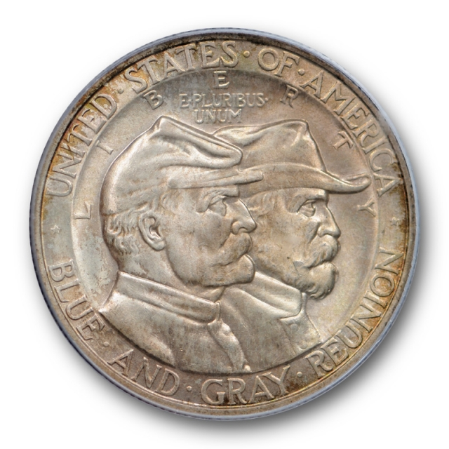 1936 Gettysburg 50c Silver Commemorative Half Dollar PCGS MS 65 CAC Approved