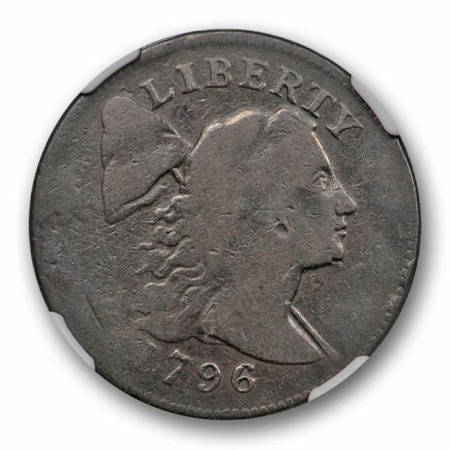 1796 1C Liberty Cap Large Cent NGC VG 8 Very Good S 91 Sheldon Variety