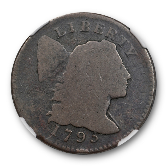 1795 1C Lettered Edge Liberty Cap Large Cent NGC AG 3 Early American Copper Coin
