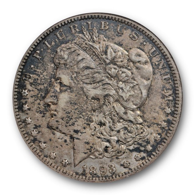 1893 O $1 Morgan Dollar ANACS XF 45 Extra Fine to About Uncirculated Better Date