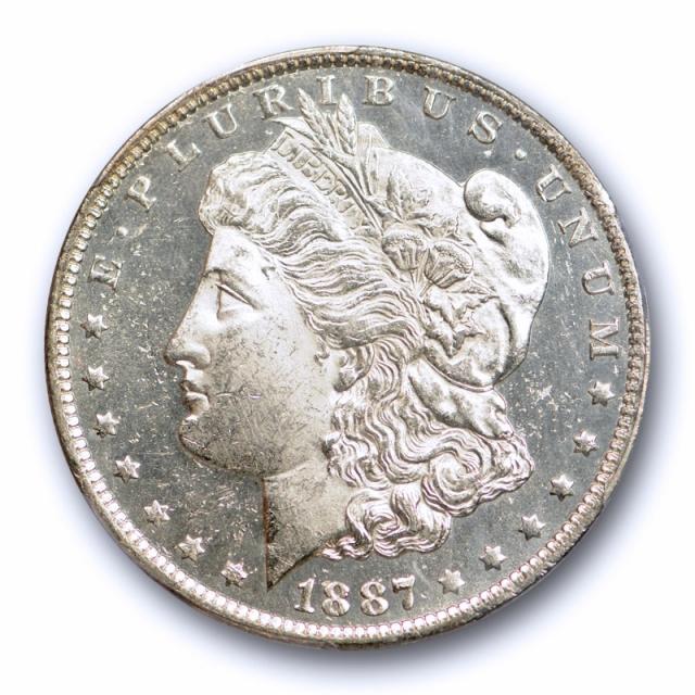 1887 O $1 Morgan Dollar PCGS MS 62 DMPL Deep Mirror Proof Like Tough in DMPL!