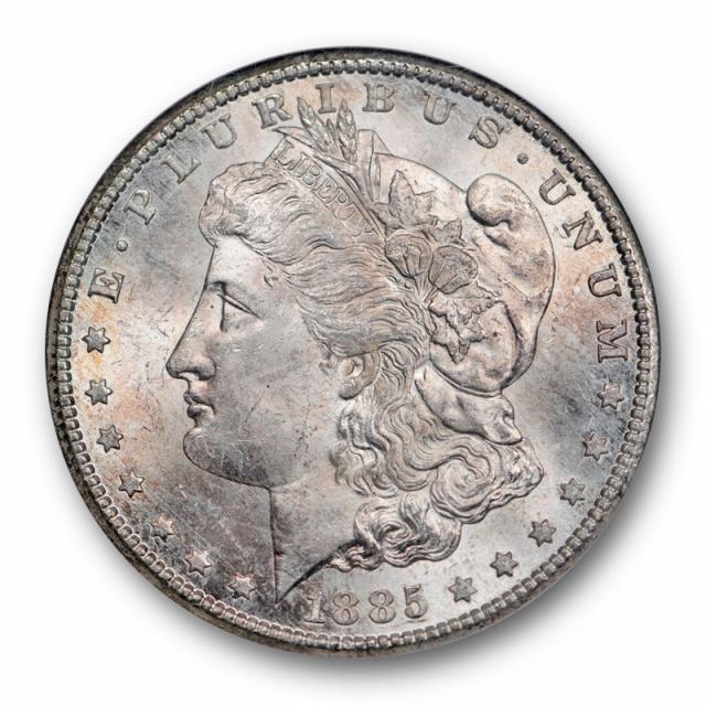 1885 CC $1 Morgan Dollar NGC MS 65 Uncirculated Carson City Mint Cert#4004