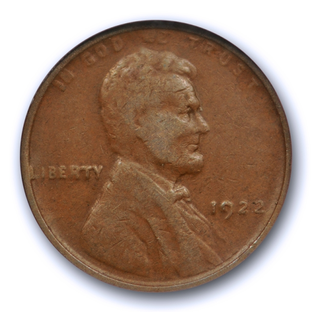 1922 No D 1c Lincoln Wheat Cent NGC VF 25 Very Fine to Extra Fine CAC Approved