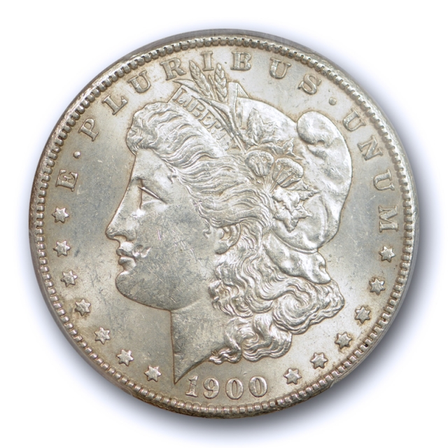 1900 S $1 Morgan Dollar PCGS MS 62 Uncirculated Better Date Sharp Strike Tough !
