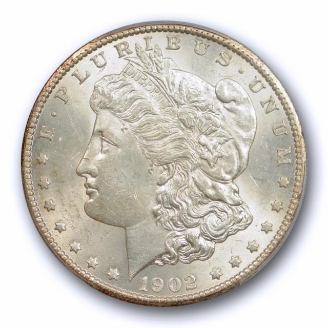 1902 S $1 Morgan Dollar PCGS MS 62 Uncirculated San Francisco Mint Better Date