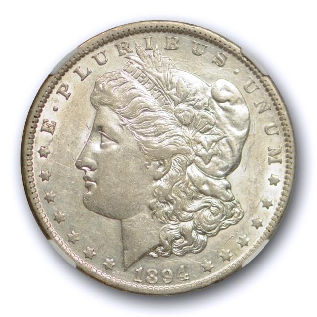 1894 O $1 Morgan Dollar NGC AU 55 About Uncirculated Better Date Original