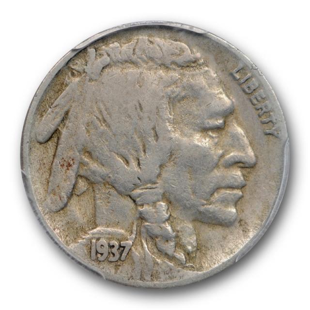 1937 D  5c Three Legged Buffalo Head Nickel PCGS VF 30 3 Legs Very Fine Cert#9610