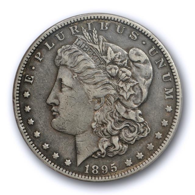 1895 O $1 Morgan Dollar PCGS XF 40 Extra Fine Key Date Toned Tough Coin !