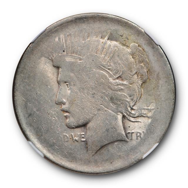 Silver Peace Dollar $1 Die Adjustment Strike Major Mint Error Coin Late Die