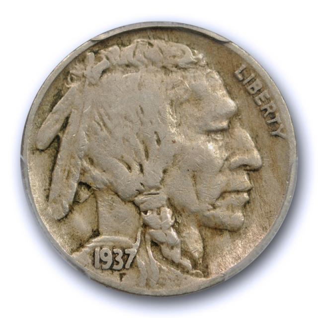 1937 D 5c Three Legged Buffalo Head Nickel PCGS VF 30 3 Legs Very Fine to Extra Fine Cert#5286