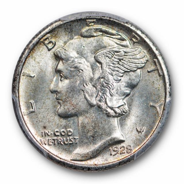 1928 S 10C Mercury Dime PCGS MS 65 Gem Uncirculated Better Date