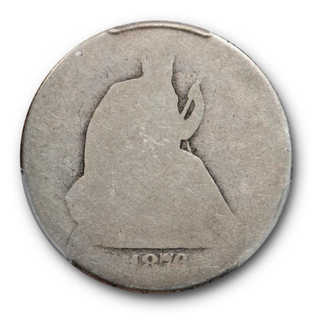 1876 CC 50C Seated Liberty Half Dollar PCGS PO 01 Poor Low Ball Pop 11 !  Cert#0063