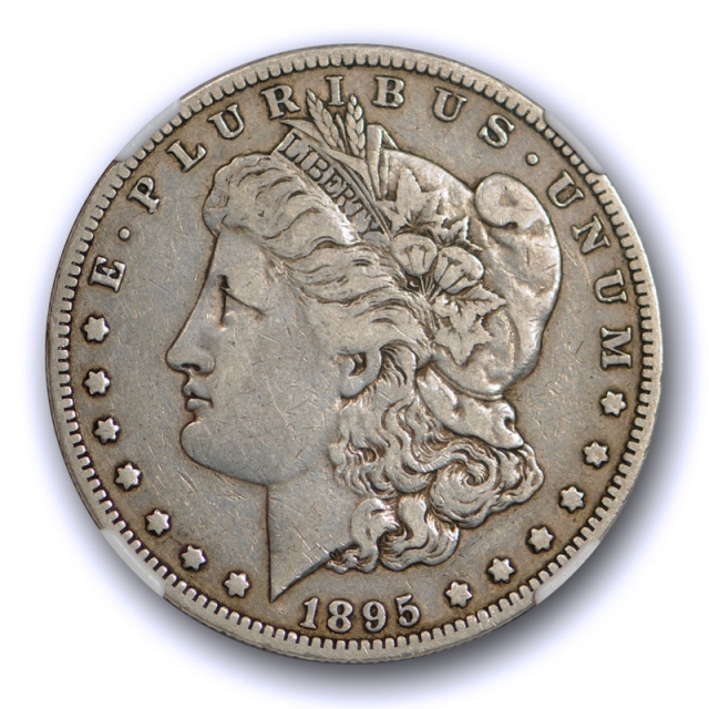 1895 O $1 Morgan Dollar NGC VF 30 Very Fine to Extra Fine Key Date New Orleans Mint