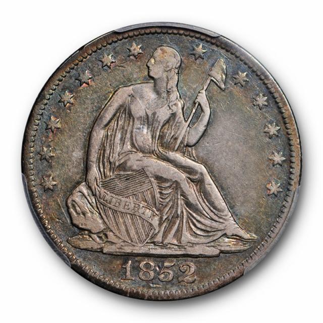 1852 O 50C Seated Liberty Half Dollar PCGS VF 30 Very Fine to Extra Fine Cert#7020