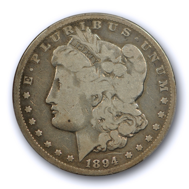 1894 $1 Morgan Dollar PCGS G 6 Good to Very Good Key Date Tough US Coin !