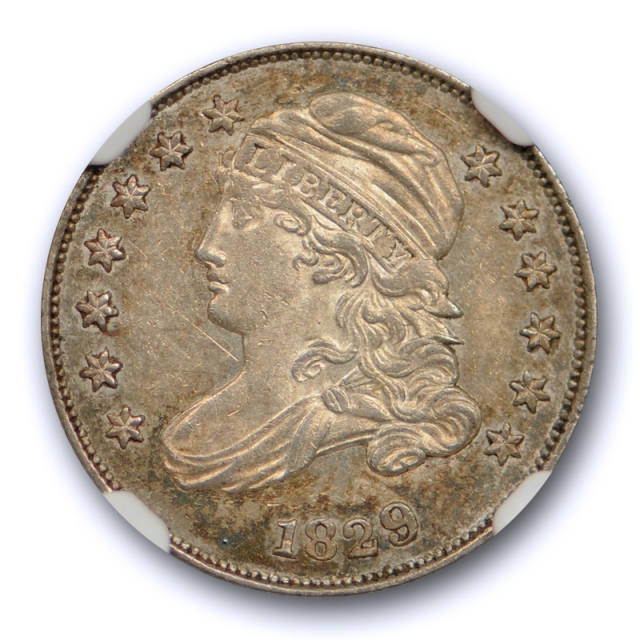 1829 10c Small 10C Capped Bust Dime NGC MS 61 Uncirculated JR 7 Pop 2 !