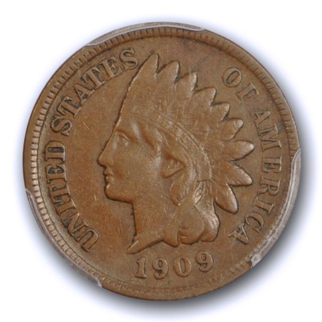 1909 S 1C Indian Head Cent PCGS VF 30 Very Fine to Extra Fine Key Date Original Cert#7478
