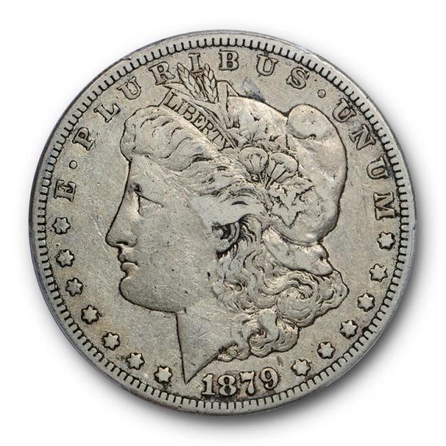 1879-S $1 Reverse of 1878 Morgan Dollar PCGS VF 30 Rev of 78 Cert#0805