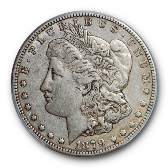 1879 S $1 Reverse of 1878 Morgan Dollar PCGS XF 40 Extra Fine Rev 78 Cert#0809