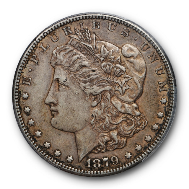 1879 S $1 Reverse of 1878 Morgan Dollar PCGS XF 45 Extra Fine to AU Toned