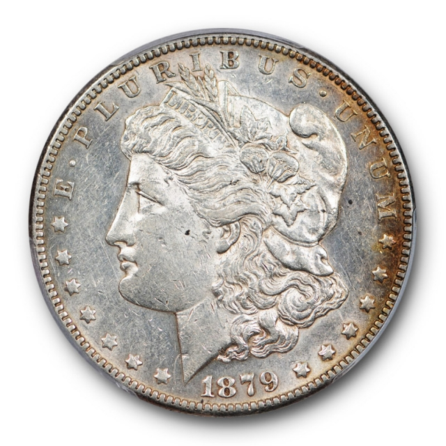 1879 S $1 Reverse of 1878 Morgan Dollar PCGS AU 50 About Uncirculated Cert#0825