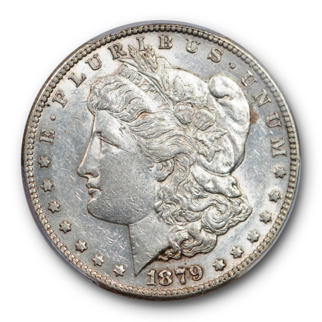 1879 S $1 Reverse of 1878 Morgan Dollar PCGS AU 50 About Uncirculated Cert#0835