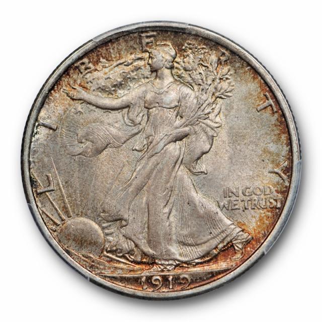 1919 50C Walking Liberty Half Dollar PCGS MS 64 Uncirculated Original
