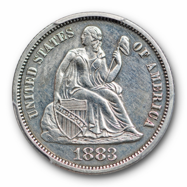 1883 10C Proof Seated Liberty Dime PCGS PR 61 Low Mintage Proof Type Coin
