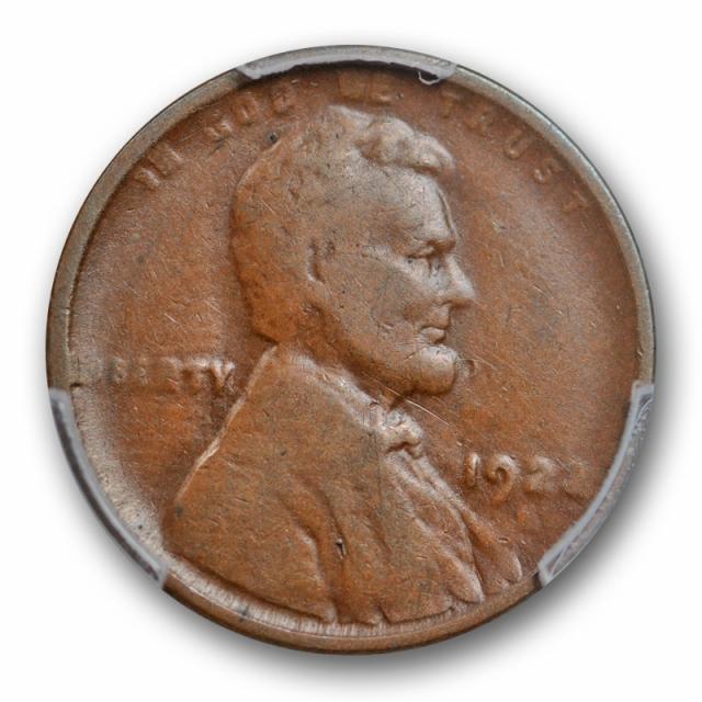 1922 D 1C Weak D Lincoln Wheat Cent PCGS F 12 Fine Very Weak Cert#3707