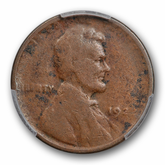1922 D 1C Weak D Lincoln Wheat Cent PCGS G 6 Good to Very Good No D Variety ?