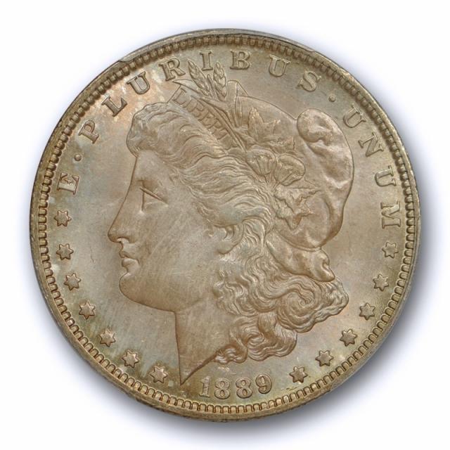 1889 O $1 Morgan Dollar PCGS MS 64 Uncirculated Better Date Original Toned