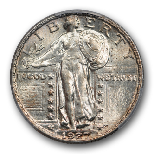 1927 25C Standing Liberty Quarter PCGS MS 64 Uncirculated Cert#0933
