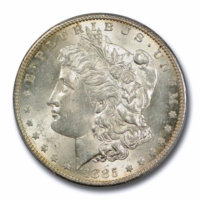 1885 S $1 Morgan Dollar PCGS MS 62 Uncirculated San Francisco Mint