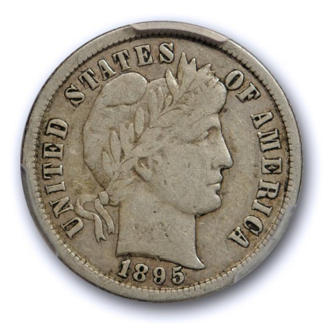 1895 S 10C Barber Dime PCGS VF 25 Very Fine to Extra Fine Better Date Original