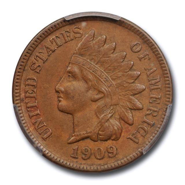 1909 S 1C Indian Head Cent PCGS AU 55 About Uncirculated Key Date Tough !