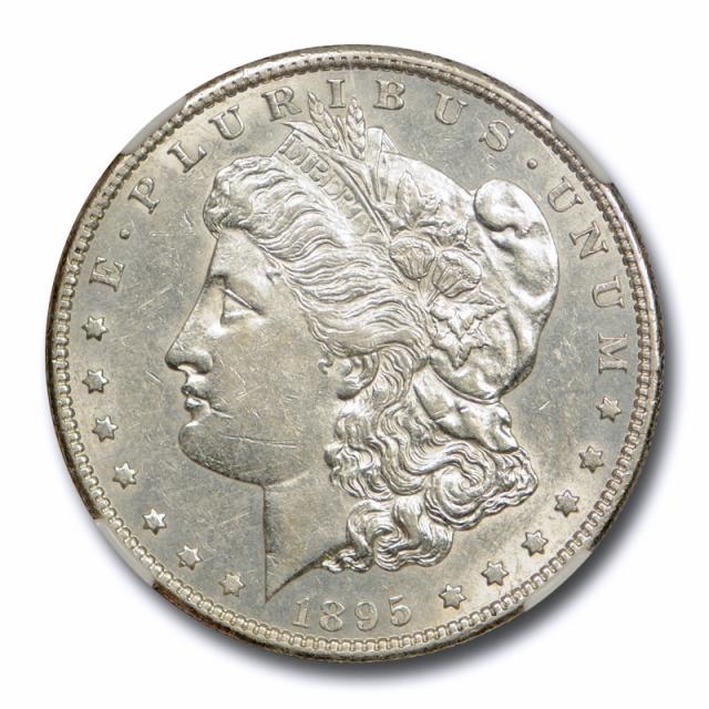 1895 S $1 Morgan Dollar NGC AU 55 About Uncirculated Key Date Tough !