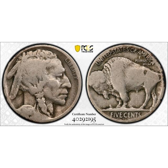 1918/7 D 5c Buffalo Head Nickel PCGS G 4 Good 1918/17 D Overdate Variety Coin
