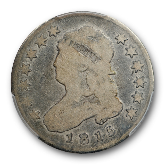 1815 25C Capped Bust Quarter PCGS VG 8 Very Good Better Date US Coin