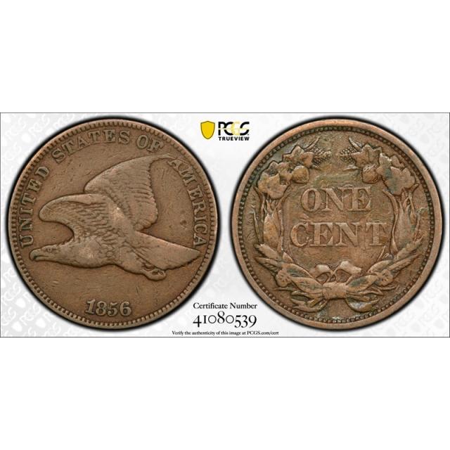1856 1C Flying Eagle Cent Proof PCGS PR 20  Snow 9 Key Date Original Nice !